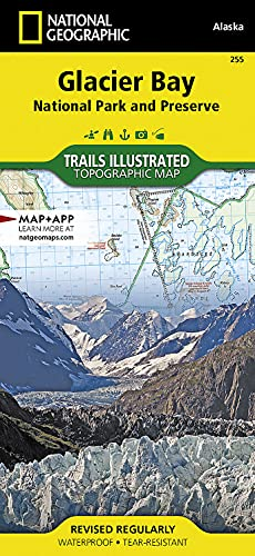 Glacier Bay National Park: Trails Illustrated National Parks