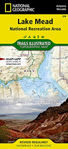 9781566954006: Lake Mead National Recreation Area (National Geographic Trails Illustrated Map)