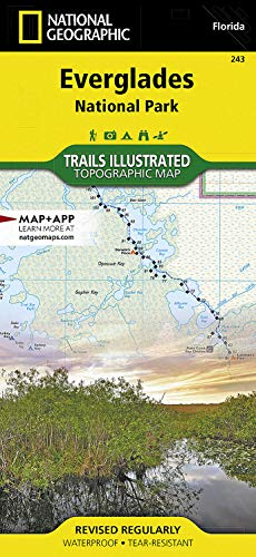 9781566954099: Everglades National Park (National Geographic Trails Illustrated Map)