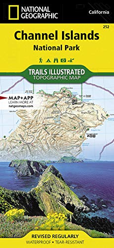 9781566954105: Channel Islands National Park: Trails Illustrated National Parks (National Geographic Trails Illustrated Map)