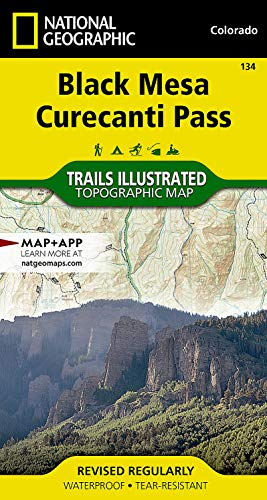9781566954303: Black Mesa, Curecanti Pass (National Geographic Trails Illustrated Map)
