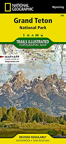 9781566954372: Grand Teton National Park: Trails Illustrated National Parks (Trails Illustrated Maps) [Idioma Inglés]