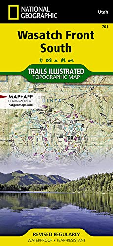 Wasatch Front South: National Geographic Maps