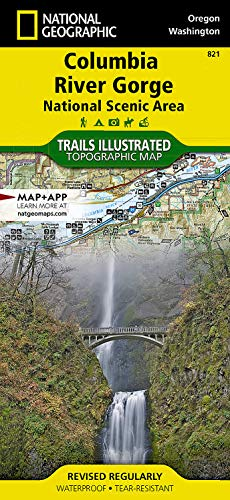 9781566954730: National Geographic Trails Illustrated Map Columbia River Gorge, Columbia River Gorge National Scenic Area Oregon / Washington, USA: Trails Illustrated Other Rec. Areas