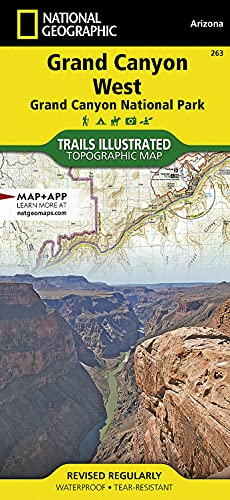 9781566954969: Grand Canyon West Trails Illustrated National Parks (Ti - National Parks)