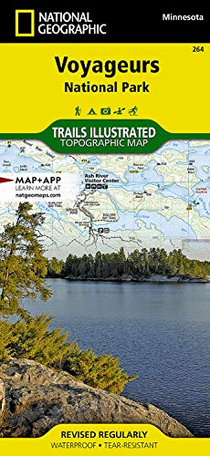 Voyageurs National Park (National Geographic Trails Illustrated Map) (1566955041) by National Geographic Maps - Trails Illustrated