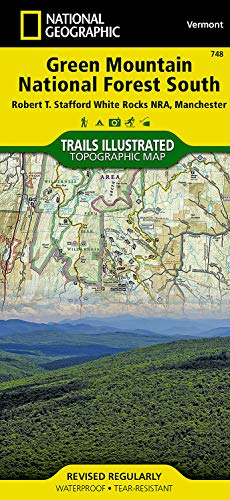 Green Mountains N.f., White Rocks Nra/manchester: Trails: National Geographic Maps