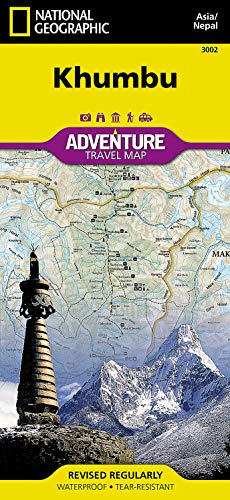 9781566955201: Khumbu [Nepal] (National Geographic Adventure Map)