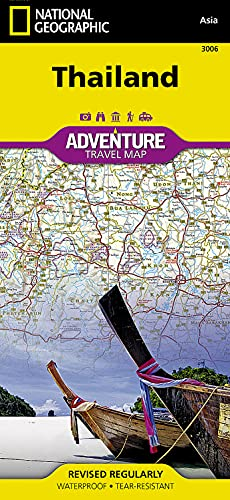 9781566955263: Thailand (National Geographic Adventure Map)
