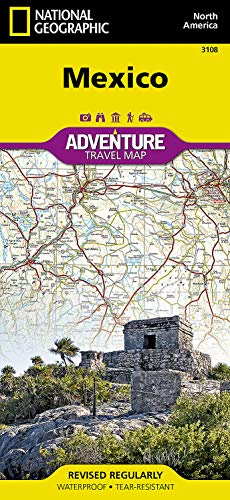 9781566955270: Mexico (National Geographic Adventure Map)
