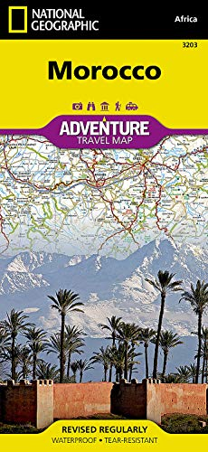 9781566955300: Morocco (National Geographic Adventure Map)