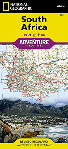 9781566955317: National Geographic Adventure Map South Africa