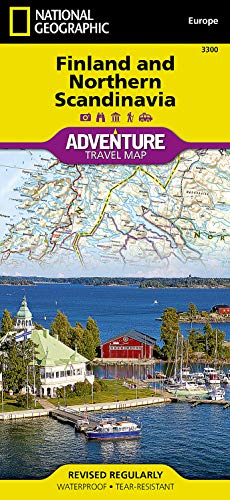 9781566955324: Finland and Northern Scandinavia (National Geographic Adventure Map)