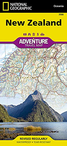 9781566955492: New Zealand (Adventure map)