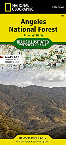 Angeles National Forest: Trails Illustrated Other Rec.: National Geographic Maps