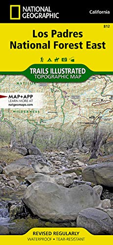 9781566955805: Los Padres National Forest East (National Geographic Trails Illustrated Map)