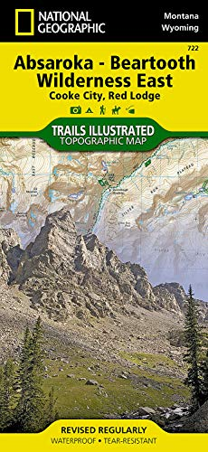 Absaroka-Beartooth Wilderness East [Cooke City, Red Lodge]: National Geographic Maps