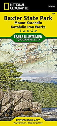 National Geographic Trails Illustrated Topographic Map Baxter: National Geographic Maps