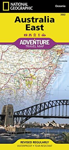 9781566955911: Australia East (National Geographic Adventure Map)