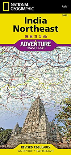 9781566955973: National Geographic Adventure Map India Northeast