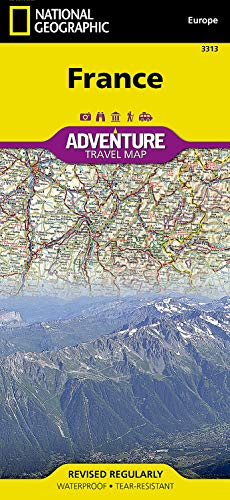9781566956048: France (National Geographic Adventure Map)