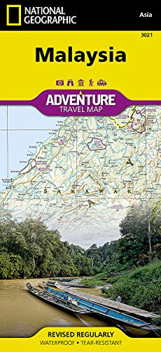 9781566956147: Malaysia (National Geographic Adventure Map)