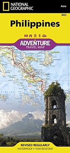 9781566956154: Filipinas: Travel Maps International Adventure Map: 3022