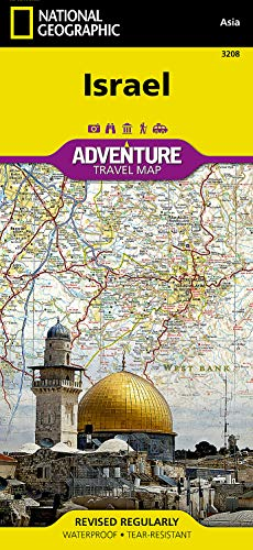 9781566956178: Israel (National Geographic Adventure Map)