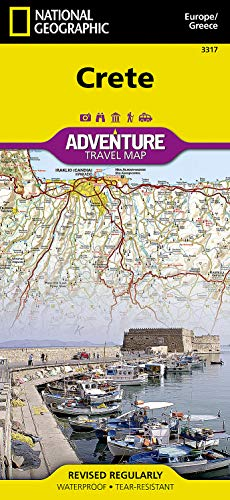9781566956222: Crete [Greece] (National Geographic Adventure Map)