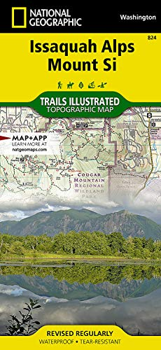 9781566956338: Issaquah Alps, Mount Si (National Geographic Trails Illustrated Map)