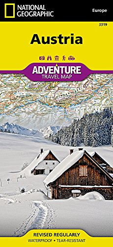 9781566956383: Austria: Travel Maps International Adventure Map