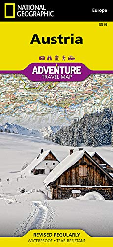 9781566956383: National Geographic Adventure Map Austria