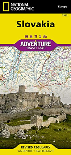 9781566956420: Slovakia (National Geographic Adventure Map)