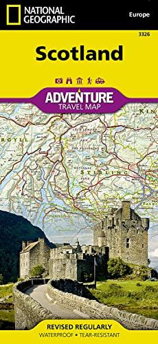 9781566956451: Scotland (National Geographic Adventure Map)