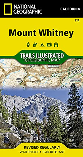 9781566956468: Mount Whitney (National Geographic Trails Illustrated Map)