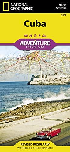 Cuba: Travel Maps International Adventure Map: National Geographic Maps