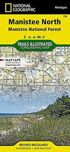9781566956567: Manistee North [Manistee National Forest] (National Geographic Trails Illustrated Map)