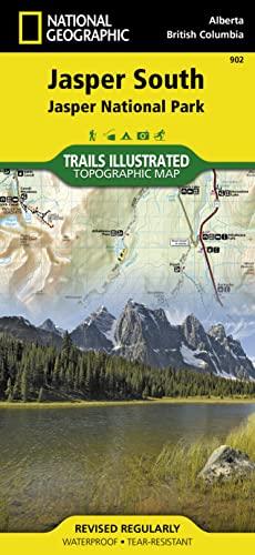 9781566956604: Jasper South : Trails Illustrated National Parks