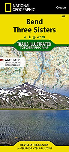 9781566956628: Bend, Three Sisters (National Geographic Trails Illustrated Map)