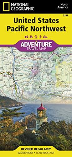 9781566957120: United States, Pacific Northwest Adventure Map ...