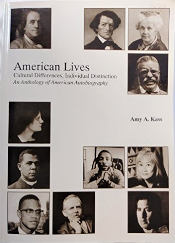 9781566960939: American Lives: Cultural Differences, Individual Distinctions Book