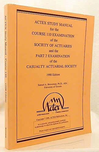 actex study manual - AbeBooks