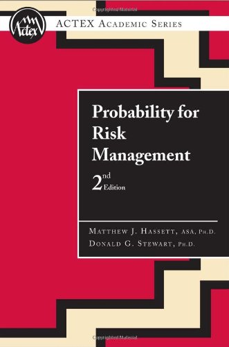 9781566985482: Probability for risk management (2nd Ed.):