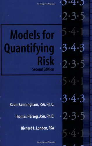 9781566985840: Models for Quantifying Risk