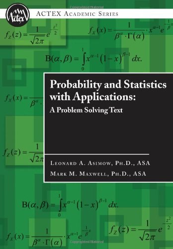 9781566987219: Probability and Statistics with Applications : A