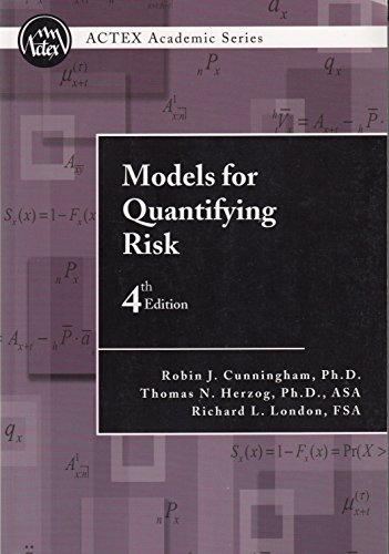 9781566988193: Models for Quantifying Risk