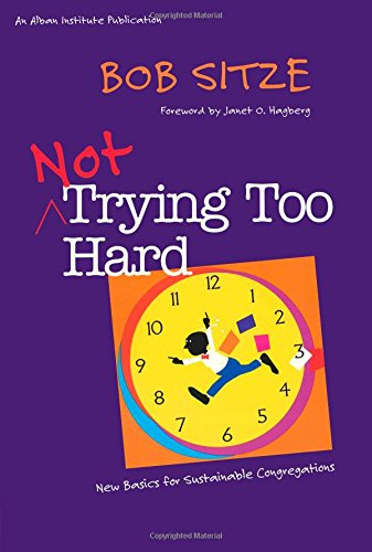 9781566992558: Not Trying Too Hard: New Basics for Sustainable Congregations