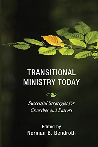Transitional Ministry Today: Successful Strategies for Churches: Bendroth, Norman B.