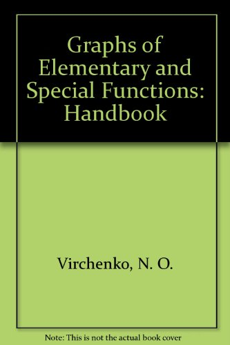 9781567001563: Graphs of Elementary and Special Functions: Handbook