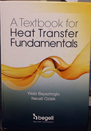 9781567003062: A Textbook for Heat Transfer Fundamentals